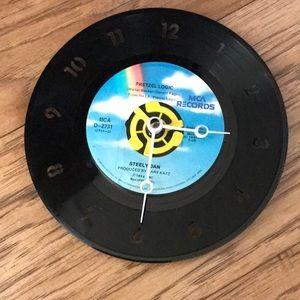 Steely Dan Vinyl 45 Clock